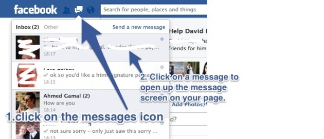 how to find your facebook other inbox