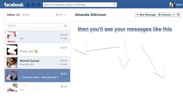 Other facebook Inbox